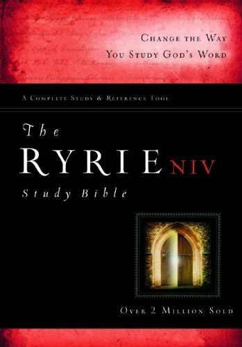 9780802489326: The Ryrie NIV Study Bible Hardback Red Letter (Ryrie Study Bibles 2008)