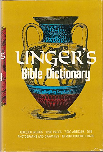 9780802490353: Unger's Bible Dictionary