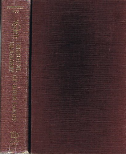 Wycliffe Historical Geography of Bible Lands (0802496997) by Pfeiffer, Charles F.; Vos, Howard F.