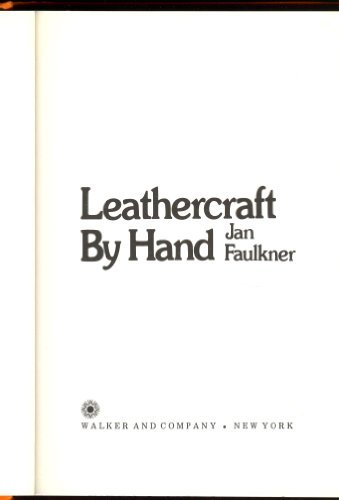 9780802704283: Leathercraft by hand