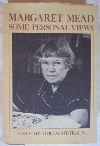 9780802706263: Margaret Mead: Some Personal Views