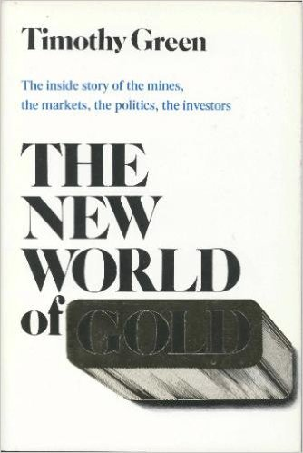 The New World of Gold: The Inside: Timothy Green