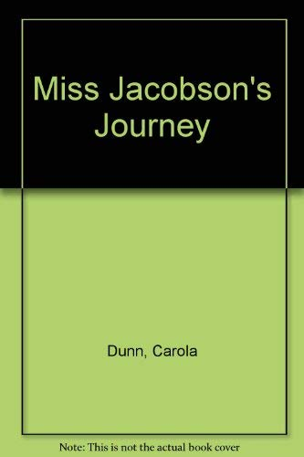 9780802712158: Miss Jacobson's Journey
