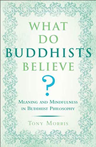 WHAT DO BUDDHISTS BELIEVE? Meaning & Mindfulness In Buddhist Philosophy