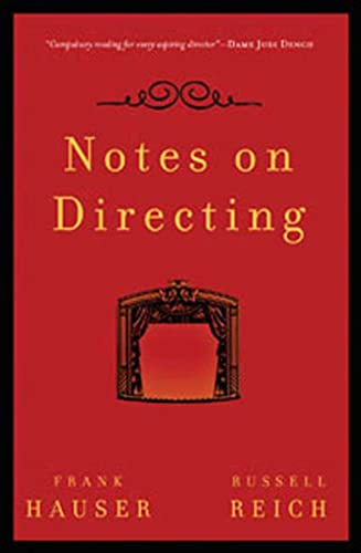 9780802717085: Notes on Directing: 130 Lessons in Leadership from the Director's Chair