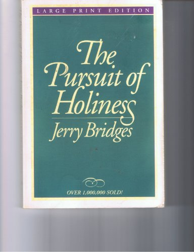 9780802725073: The Pursuit of Holiness (Walker Large Print Books)
