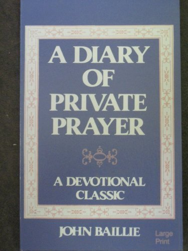 9780802725196: A Diary of Private Prayer