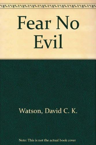 9780802725400: Fear No Evil