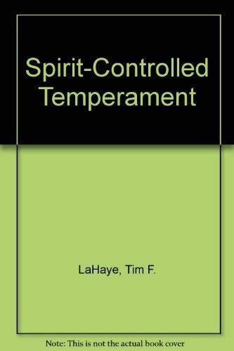 9780802725639: Spirit-Controlled Temperament