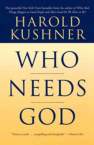 9780802726421: Who Needs God (Walker Large Print Books)