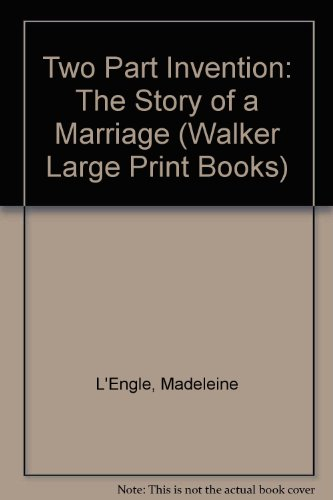 9780802726520: Two Part Invention: The Story of a Marriage (Walker Large Print Books)