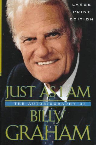 9780802727213: Just As I Am: The Autobiography of Billy Graham (Walker Large Print Books)