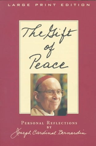 9780802727251: The Gift of Peace: Personal Reflections (Walker Large Print Books)