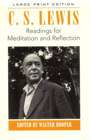 9780802727350: Readings for Meditation and Reflection (Walker Large Print Books)