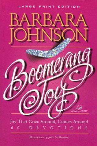 9780802727510: Boomerang Joy (Walker Large Print Books)