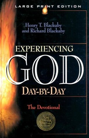 9780802727619: Experiencing God Day-By-Day: A Devotional (Walker Large Print Books)