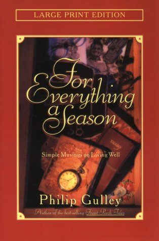 9780802727718: For Everything a Season (Walker Large Print Books)