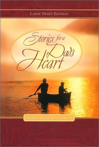 9780802727787: Stories for a Dad's Heart (Walker Large Print Books)