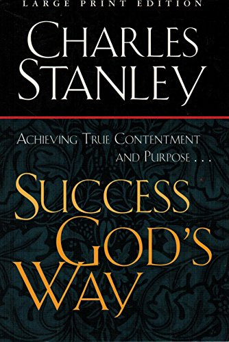 Success Gods Way (0802727832) by Charles F. Stanley