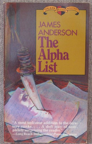 Alpha List: Anderson, James