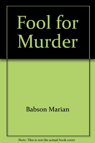 9780802731470: Fool for Murder