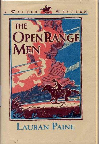 9780802741059: The Open Range Men: A Walker Western