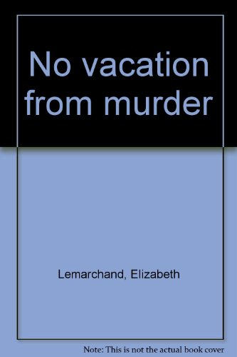 9780802752871: No vacation from murder