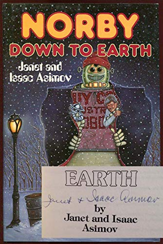 9780802768667: Norby Down to Earth (Norby Series)