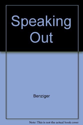 Speaking Out (9780802771469) by Benziger
