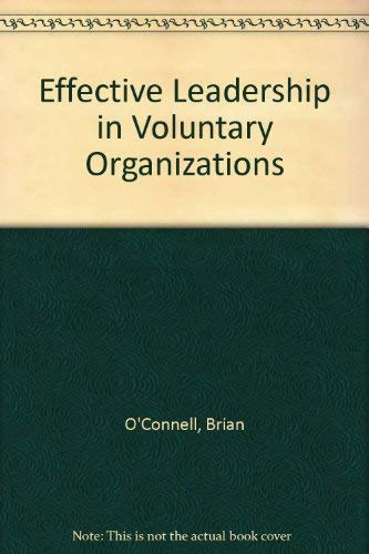 9780802771889: Effective Leadership in Voluntary Organizations