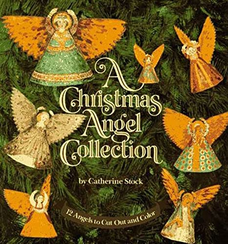 9780802774996: A Christmas Angel Collection: 12 Angels to Cut Out and Color