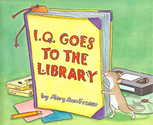 9780802777270: I.Q. Goes to the Library (An I.Q book)