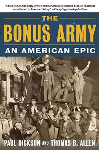 9780802777386: The Bonus Army: An American Epic