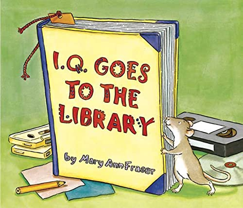 9780802788788: I.Q. Goes to the Library (An I.Q book)