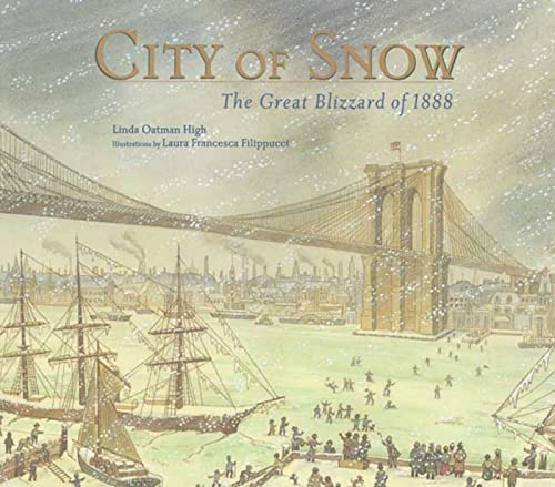 9780802789112: City of Snow: The Great Blizzard of 1888