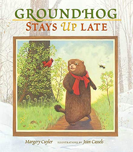 9780802789402: Groundhog Stays Up Late