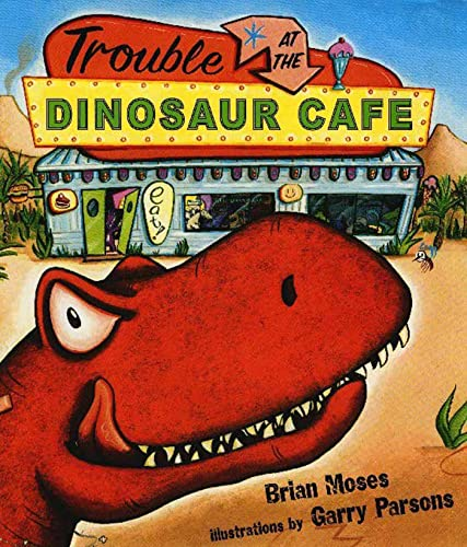 9780802795991: Trouble at the Dinosaur Cafe