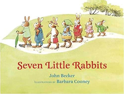 9780802796349: Seven Little Rabbits