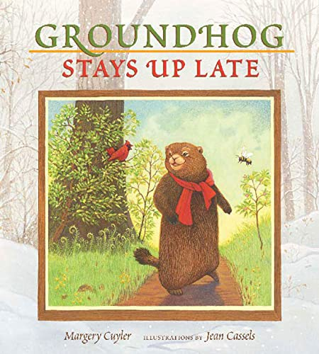 9780802797322: Groundhog Stays Up Late