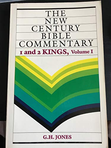 9780802800190: 1 And 2 Kings, Volume I (New Century Bible Commentary)