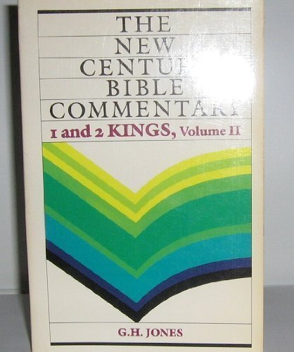 9780802800404: 1 And 2 Kings, Volume II (The New Century Bible Commentary)
