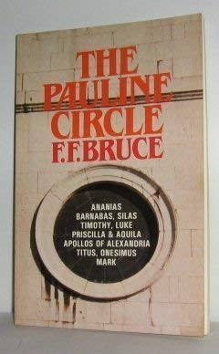 The Pauline circle (0802800661) by F. F Bruce