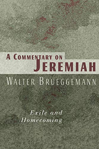 9780802802804: A Commentary on Jeremiah: Exile and Homecoming
