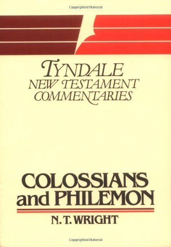9780802803092: The Epistles of Paul to the Colossians and to Philemon: An Introduction and Commentary (Tyndale New Testament Commentaries)