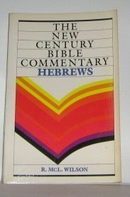 9780802803269: Hebrews (New Century Bible Commentary)