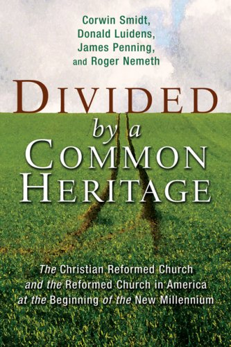 Divided by a Common Heritage: The Christian: Smidt, Executive Director