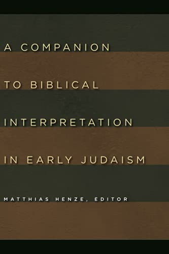 9780802803887: A Companion to Biblical Interpretation in Early Judaism