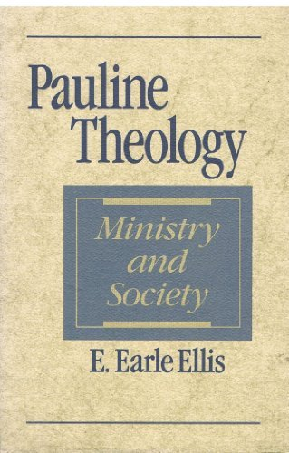 9780802804518: Pauline Theology: Ministry and Society