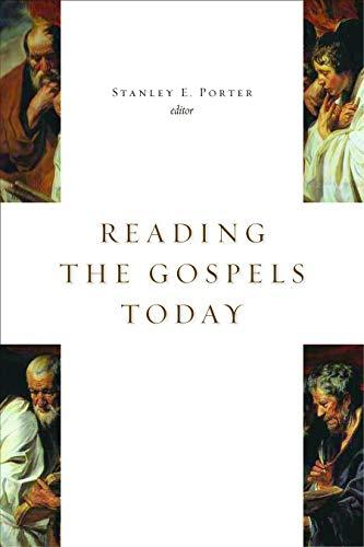 9780802805171: Reading the Gospels Today (McMaster New Testament Studies)