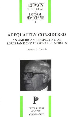 9780802805645: Adequately Considered (Louvain Theological and Pastoral Monographs)